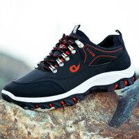 秋季户外登山鞋男士运动鞋防滑男鞋韩版青年学生跑步潮鞋防水鞋子