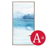 新中式装饰画客厅沙发背景墙挂画玄关书房水墨山水画现代简约壁画