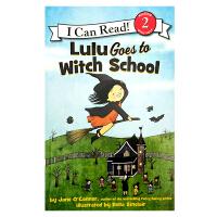 英文原版 Lulu Goes to Witch School露露要去女巫学校 [4-8岁]