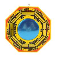 木雕挂件家居九宫格家居饰品八卦镜凸镜凹镜