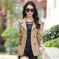 中年妇女装妈妈装春秋天外套30-40-50岁韩版外衣服女士短款风衣35 X