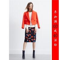 [23-900]秋新款女装短款上衣时尚短外套0.65