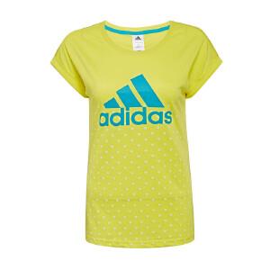 AIDIAS阿迪达斯女装 运动休休闲短袖T恤 AP5894