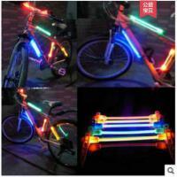装饰灯警示灯单车闪光灯硅胶灯山地车发光自行车LED车灯自行车辐发光条灯