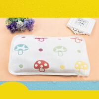 儿童枕套婴儿枕头六层纱布卡通荞麦壳枕芯幼儿园枕巾