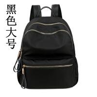 牛津布双肩包女韩版2018尼龙时尚旅行背包帆布学生书包潮