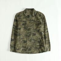 春款女外套 工装衬衫款纯棉帅气上衣夹克12D