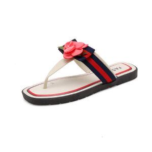 ELEISE美国艾蕾莎新品113-T1135休闲塑料平跟女士凉拖鞋