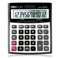得力 桌上型 计算器deli 1632 A型办公用品