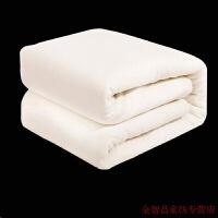 棉被冬季纯棉花被新疆长绒棉被里外全棉棉絮床垫冬被纯棉花棉被芯被子棉花被 1 120x150cm 婴儿 儿童被