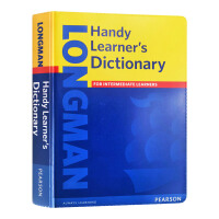 朗文便捷英语学习词典 英文原版 Longman Handy Learner's Dictionary 英文版工具书 英