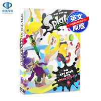 现货喷射战士1 游戏设定集 精装大开本 英文原版 The Art of Splatoon 艺术设定集 任天堂 进口 画册