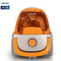 飞利浦(PHILIPS)卧式吸尘器FC8085 家用小巧便携 尘盒吸尘易清理