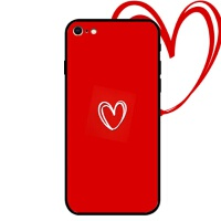 苹果8plus手机壳情侣iPhone6s plus硅胶保护套全包防摔软边7p个性创意xr男女挂绳