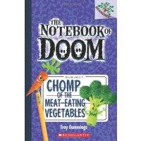 学乐大树系列之厄运笔记4磨牙的食肉蔬菜NOTEBOOK OF DOOM, THE #4进口原版 6-8-10-12岁少儿