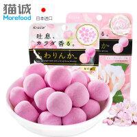 日本进口零食品 kracie玫瑰香味糖果32g*4袋香味软糖口香糖
