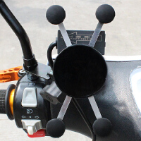 摩托车手机支架骑车导航仪GPS架越野骑行车载快速充电外卖手机夹