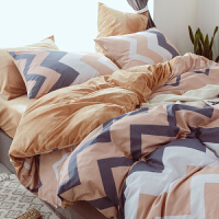 少女心四件套ins网红保暖珊瑚绒水晶绒床单被套床上用品