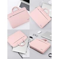 笔记本手提电脑包男女苹果内胆包1514小米公文包pro13.3华为1315.6寸