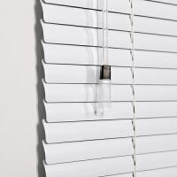 073330481百叶窗帘卷帘铝合金遮光办公室厨房卫生间卧室可免打孔定制