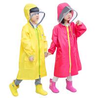 儿童雨衣宝宝小孩子小学生男童女童 户外雨衣雨披书包位