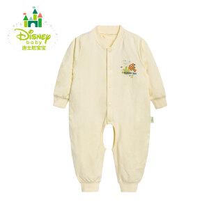 【卷后139元3件】迪士尼Disney 婴儿连体衣纯棉开裆宝宝哈衣爬服153L661