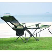 户外折叠躺椅子便携式靠背钓鱼椅烧烤自驾椅沙滩躺椅