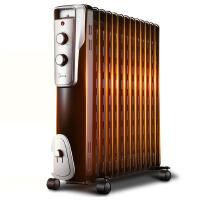(支持礼品卡支付)【美的官方旗舰店】Midea 美的电暖器NY2513-16J1W 13片电热油汀取暖器/电暖器/电暖