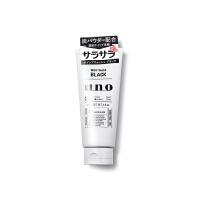 日本资生堂UNO吾诺男士洗面奶活性黑炭洁面乳130g 清爽控油