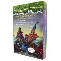 英文原版 神奇树屋21-24合集 Magic Tree House Volumes 21-24 Boxed Set: American History Quartet  进口原版 美国小说故事书