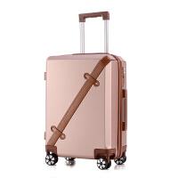 行李箱拉杆箱万向轮女20寸韩版大学生密码箱个性欧美复古旅行箱子 墨绿色 169 20寸 品质保障 终身保修