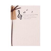 自然旋律 彩页盒装布面本 创意韩国日记本笔记本 记事本子A5