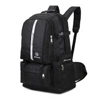 男士大容量双肩包户外旅行包防水尼龙包双肩背包男女包加大行李包