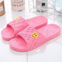 凉拖鞋女夏季浴室内防滑洗澡家居家用塑料女士凉拖鞋男士