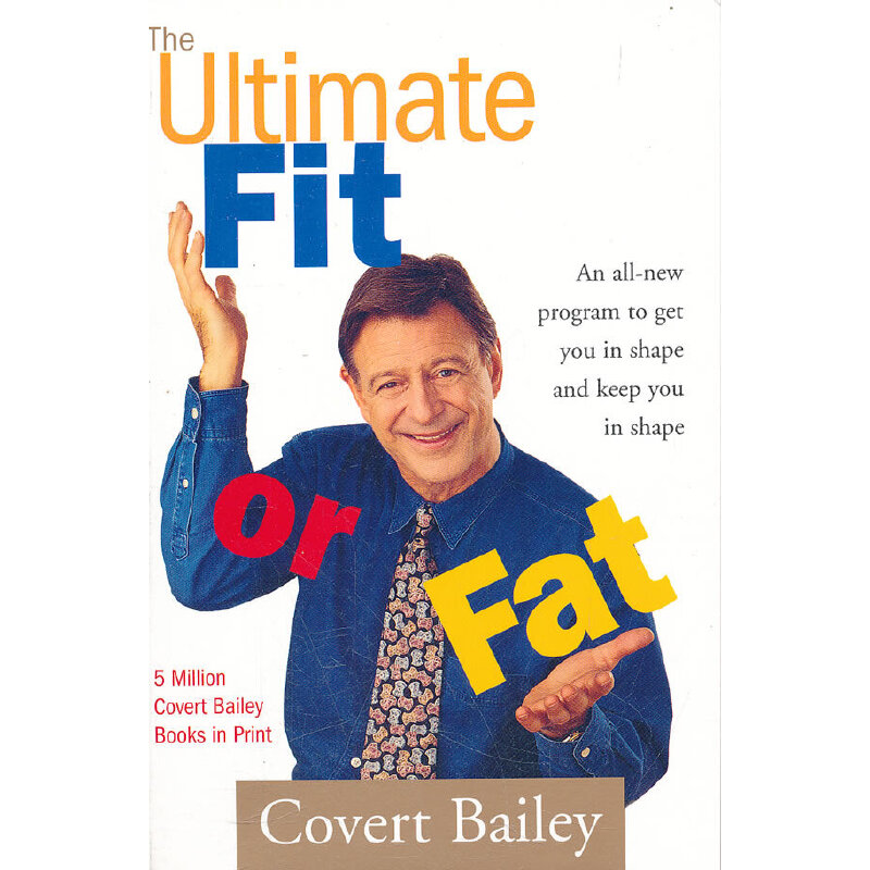 Ultimate Fit or Fat(ISBN=9780618002047) 英文原版