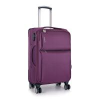 牛津布旅行拉杆箱万向轮20男女士学生行李箱包22寸24密码软箱子28