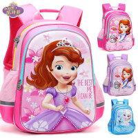 迪士尼女童背包小学生1-3-6年级6-12周岁苏菲亚女孩书包儿童书包5