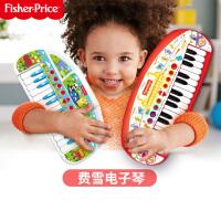 费雪多功能电子琴儿童玩具初学入门乐器音乐启蒙益智玩具节日礼物