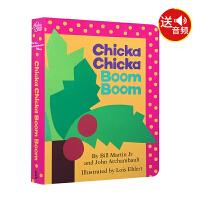 英文原版儿童书 Chicka Chicka Boom Boom 叽喀叽喀碰碰 (名家绘本)