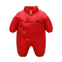 201805062154228女婴儿连体衣冬季加厚宝宝外出抱衣服6新年秋冬装3新生儿0岁1个月