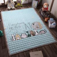 全棉环保加厚宝宝爬行垫儿童爬爬垫折叠地垫防滑机洗家用卧室客厅 0*200cm