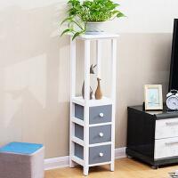 实木夹缝收纳柜 超窄28cm抽屉式缝隙置物架冰箱储物柜马桶边侧柜 1个