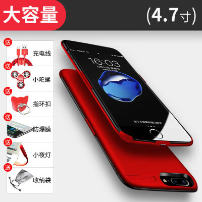 20000M苹果背夹充电宝 6s专用iphone7p电池手机壳6plus便携式8X无 发货周期:一般在付款后2-90天左右发货,具体发货时间请以与客服协商的时间为准