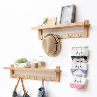 创意家居墙上置物架客厅挂钩储物架机顶盒架卧室壁挂架子