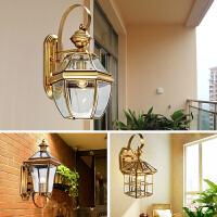 户外壁灯防水欧式客厅卧室床头灯家用简约过道灯创意灯具n8n