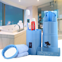 旅行洗漱杯牙刷杯牙膏套装便携出差旅游洗漱用品分装瓶空瓶洗漱包