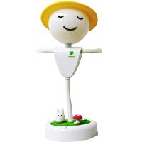 LED稻草人小夜灯卡通可爱迷你台灯充电儿童卧室床头灯婴儿喂奶灯