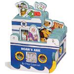 英文原版0 3岁 Noah's Ark 迷你屋系列 诺亚方舟 迷你屋系列 Workman Mini House 造型书