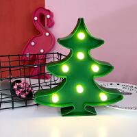 韩国 台灯暖光灯圣诞树灯LED小夜灯房间装饰灯卧室台灯拍照道具