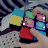 玩艺游戏世界电子音乐魔方百变无限魔方益智儿童玩具创意减压神器